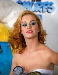 Katy Perry at the world premiere of