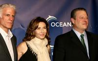 Mary Steenburgen, Ted Danson and Al Gore at the Annual Oceana Partners Awards Gala.