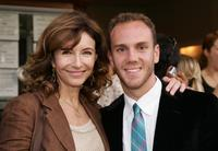 Mary Steenburgen and her son Charlie McDowell at the premiere of the short film