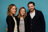 Sarah Paulson, Elizabeth Olsen and director Sean Durkin at the portrait session of