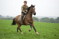 Jeremy Irvine as Albert and Joey in ``War Horse.''