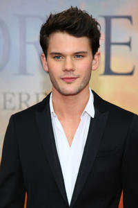 Jeremy Irvine at the world premiere of