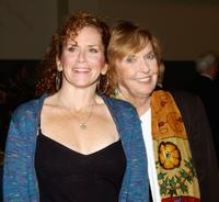 Amy Stiller and Anne Meara at the Calhoun School Dedication and Gala Benefit.