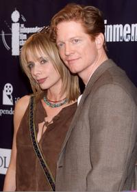 Eric Stoltz and Rosanna Arquette at the 15th Annual Independent Spirit Awards.
