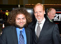 Dustin Ybarra and director Scott Moore at the California premiere of