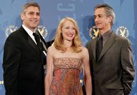 David Strathairn, George Clooney and Patricia Clarkson at the 58th Annual Directors Guild Of America Awards - Press Room.