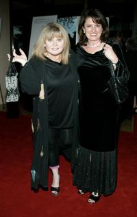 Sally Struthers and guest at the Fourth Annual Hollywood Makeup Artist and Hair Stylist Guild Awards.
