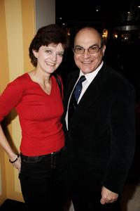 David Suchet and Guest at the South Bank Show Awards.