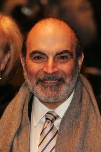 David Suchet at the world premiere of