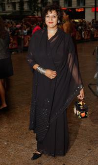 Meera Syal at the London premiere of