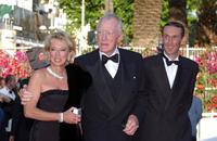 Max von Sydow at the 55th Cannes Film Festival in Cannes for a screening of