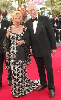 Max von Sydow at The 57th Annual Cannes Film Festival attending the premiere of