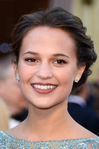 Alicia Vikander at the 85th Annual Academy Awards.