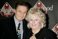 Joe Bologna and Renee Taylor at the HollywoodPoker.com's first year anniversary party.