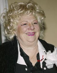 Renee Taylor at the off Broadway Musical Ethel Merman's Broadway.