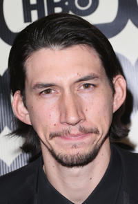 Adam Driver at the 2013 Golden Globe Awards Party.