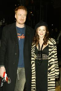 David Thewlis and Anna Friel at the performance of Dralion by Cirque Du Soleil.