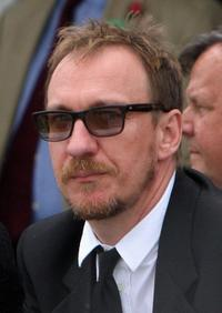 David Thewlis at the Cartier International Polo Day 2009.