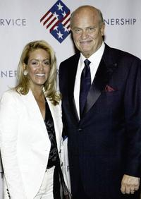 Fred Dalton Thompson and his wife Jeri at the partnership for public service 2nd Annual Gala.