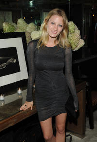 Ashley Hinshaw at the after party of the New York premiere of the