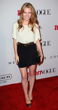 Ashley Hinshaw at the 9th annual Teen Vogue's Young Hollywood party in California.