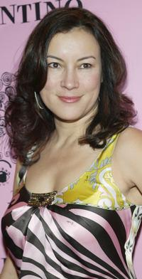 Jennifer Tilly at the Tarina Tarantino store opening party.