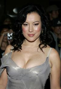 Jennifer Tilly at the 2005 World Music Awards.