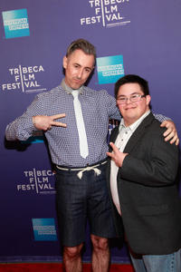 Alan Cumming and Isaac Leyva at the premiere of