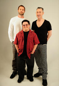 Garret Dillahunt, Isaac Leyva and Alan Cumming at the Tribeca Film Festival 2012 portrait studio in New York City.