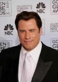 John Travolta at the 63rd Annual Golden Globe Awards.