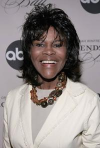 Cicely Tyson at the New York screening of