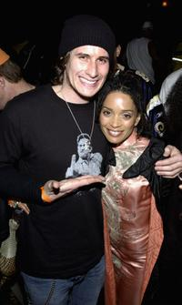 Brendan Fehr and Lisa Bonet at the after party of the premiere of