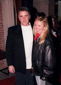 Scott Valentine and Kim Valentine at the premiere party of
