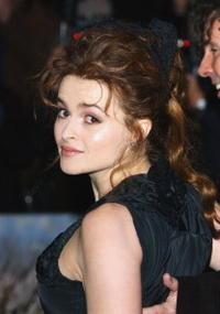"Helena Bonham Carter at the UK Premiere of ""Big Fish"" in London."