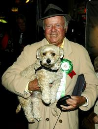 Dick Van Patten poses for a photo at the 72nd Annual Hollywood Christmas Parade.