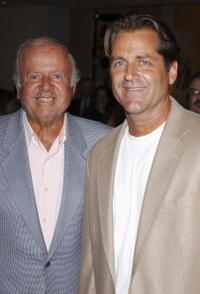 Dick Van Patten and Jimmy Van Patten at the Museum of Television and Radio Cocktail Party.