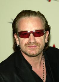 Bono talks at the AFI's 2003 Awards Luncheon honoring Film and Television creative teams.