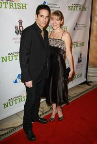 Yul Vazquez and Linda Larkin at the North Shore Animal League America's 2008 DogCatemy celebrity gala.