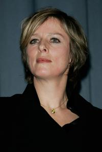 Karin Viard at the premiere of