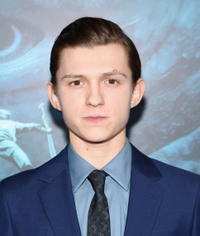 Tom Holland at the New York premiere of