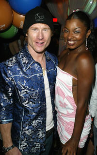 Zack Ward and Manouschka Guerrierat at the after party of the premiere of