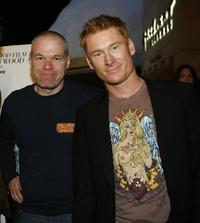 Director Uwe Boll and Zack Ward at the 2007 Hollywood Film Festival premiere of