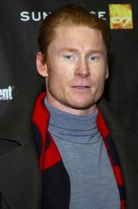 Zack Ward at the premiere of