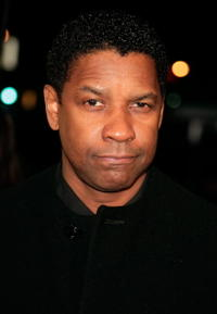 Actor Denzel Washington at the L.A. premiere of