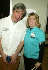 Sam Waterston and Carol Rothman at the 17th Annual Second Stage All-Star Bowling Classic.