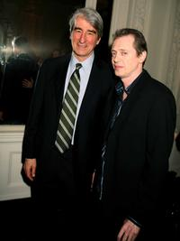 Sam Waterston and Steve Buscemi at the Israeli Film Festival.