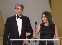 Sam Waterston and Stockard Channing at the 8th Annual Screen Actors Guild Awards.