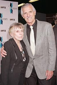 Dennis Weaver and his wife at the Eighth Annual Prism Awards.