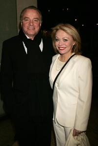 Sean Taylor and Jacki Weaver at the opening night of
