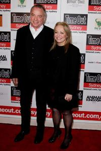 Sean Taylor and Jacki Weaver at the premiere of